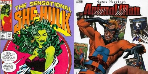 mulher hulk - homem animal