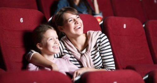 Cinema com a mãe
