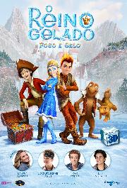 o-reino-gelado-fogo-e-gelo-poster-desktop